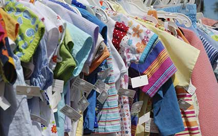 Used clothes for kids