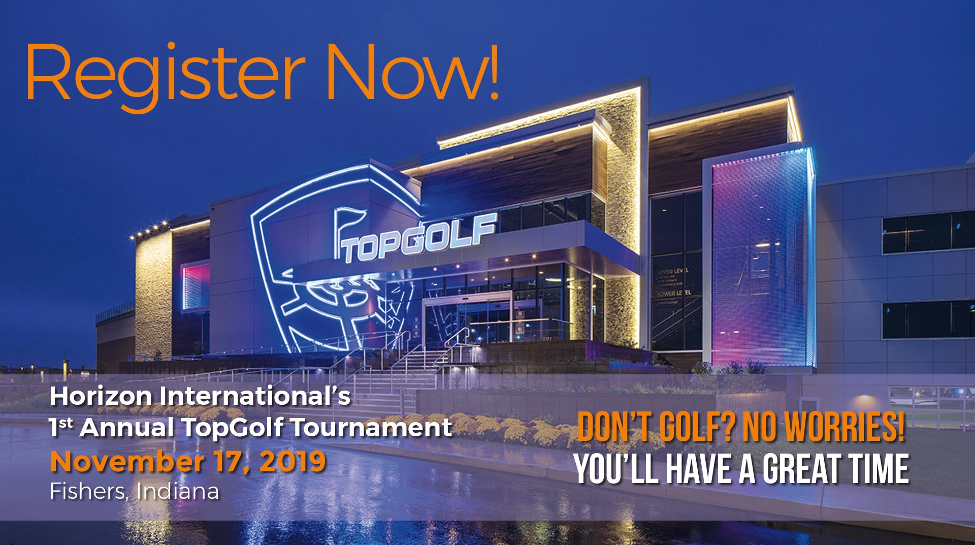 TopGolf Registration